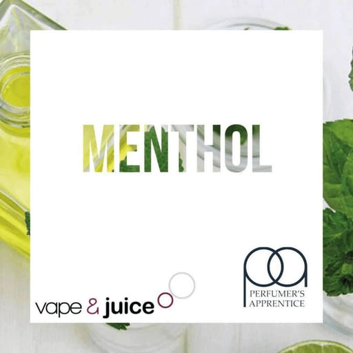 Menthol TPA - Perfumers Apprentice E-liquid DIY Concentrate 30ml - Accessories