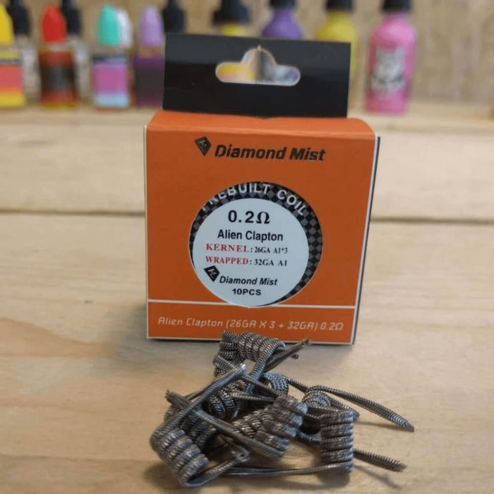 Premade Alien Coils 0.2 Ohm - Pack of 10