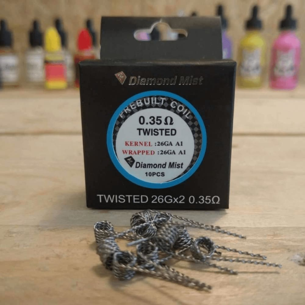 Premade Twisted Coils 0.35 Ohm - Pack Of 10