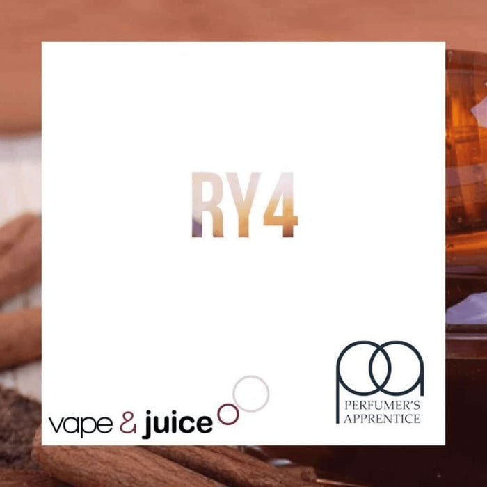RY4 Tobacco TPA - Perfumers Apprentice Eliquid Concentrate - 30ml - Accessories