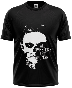 Camiseta American Horror Story - All Monsters Are Human