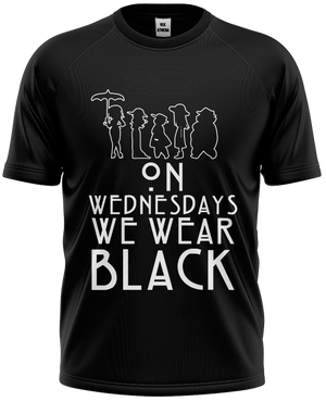 Camiseta American Horror Story - Wear Black