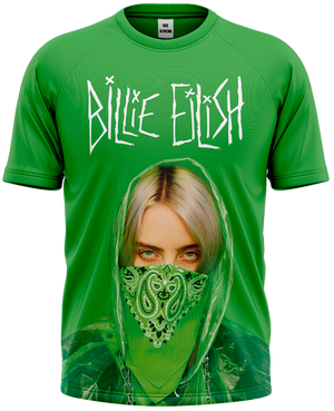 Camiseta Billie Eilish - Verde