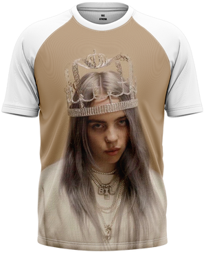 Camiseta Billie Eilish - Crown