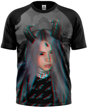 Camiseta Billie Eilish - Demon
