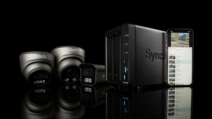 Zxtech IP Cameras For Synology And QNAP NAS