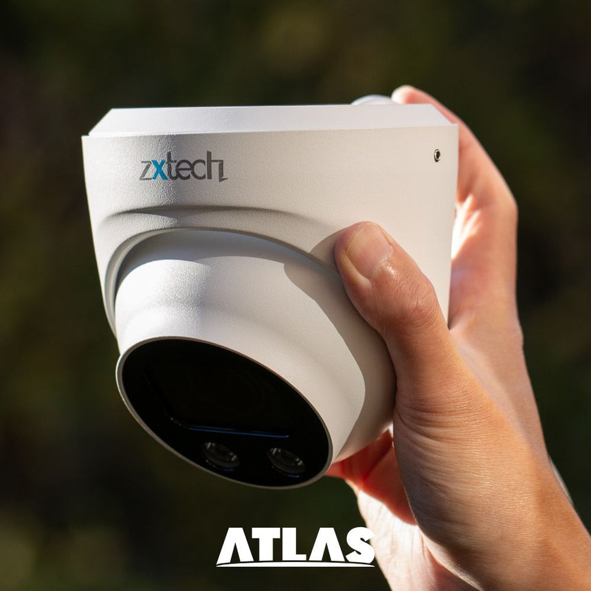 Zxtech Atlas AI 4K Face Detection 2.7-13.5mm Auto Zoom PoE IP CCTV Camera