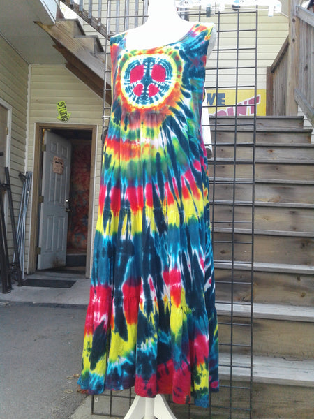 3-Tier Racerback Peace Dress