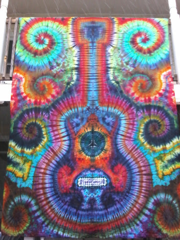 Guitar tapestry Small-Jumbo