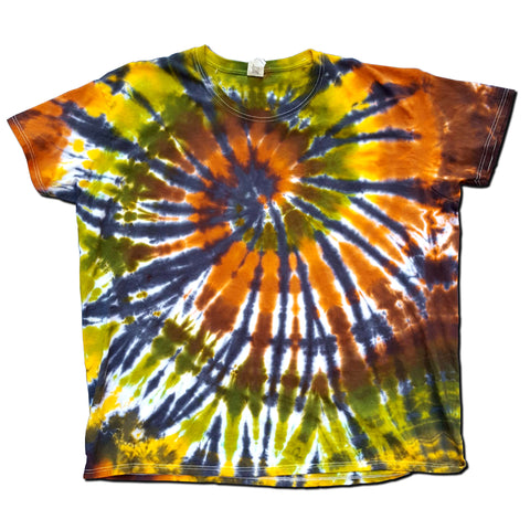 Autumn Hues Spiral T-Shirt