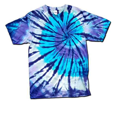 The Blues Standard Spiral Color Palette T-Shirt