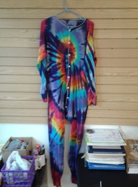 Tie-Dyed Union Suit