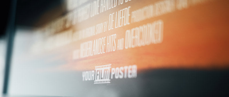Change all titles of your film poster! Even the tiny credits at the bottom of the poster.