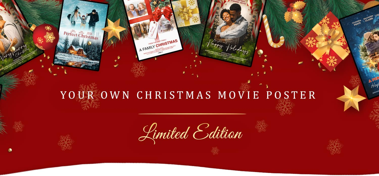 Special Customizable Christmas Movie Posters Limited Edition