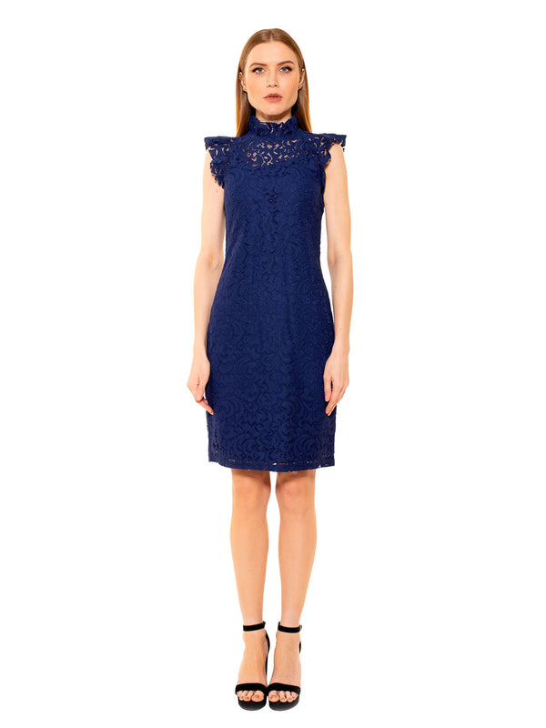 KENDALL LACE CAP SLEEVE SHEATH