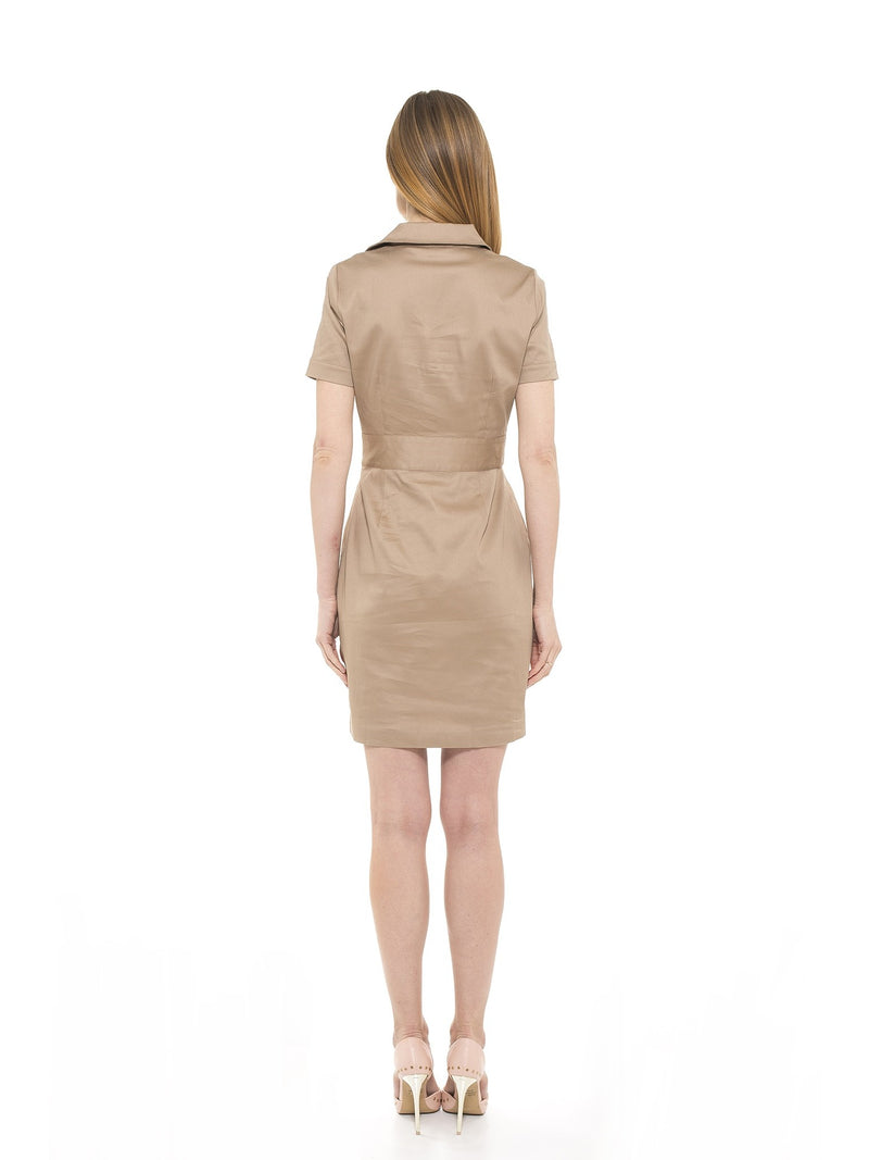 Cadet Cap Sleeve Trench Dress [product_type)