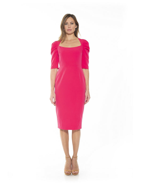 MEGHAN PORTRAIT NECK SHEATH