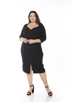 MICHELLE SWEETHEART SHEATH - PLUS SIZE