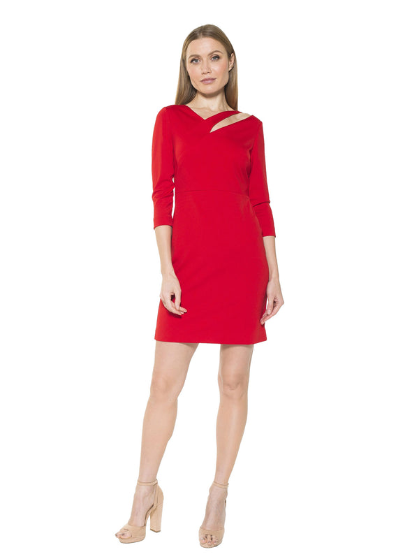 MAVEN CUTOUT SHEATH DRESS