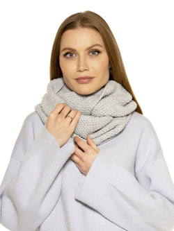 TAYLOR POPCORN KNIT SNOOD