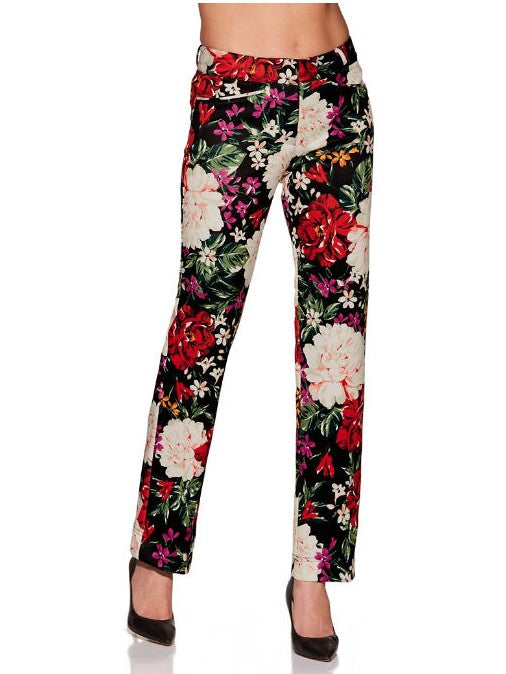 Floral Scuba Trouser [product_type)
