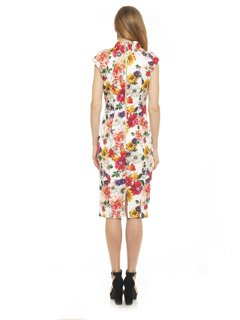 Katrina Military Midi Dress [product_type)