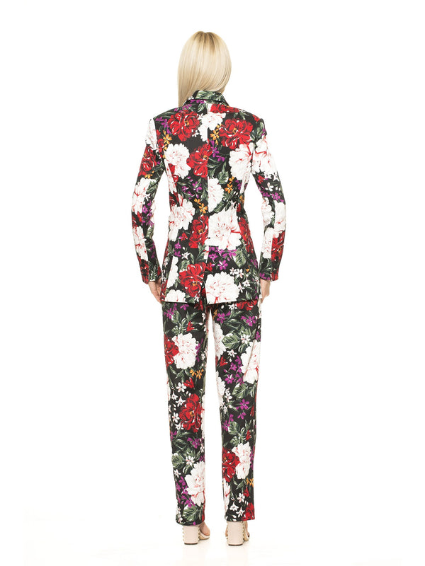 Diana Floral Print Blazer [product_type)