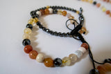 'Ground Me Down' Mala Bead Set