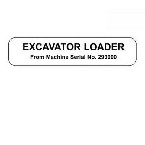 JCB 3CX, 4CX Excavator Loader Service Manual - 9803/3250-11