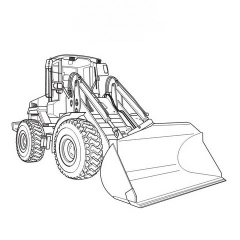JCB 411, 416 Wheeled Loading Shovel Service Manual - 9803/4150-16
