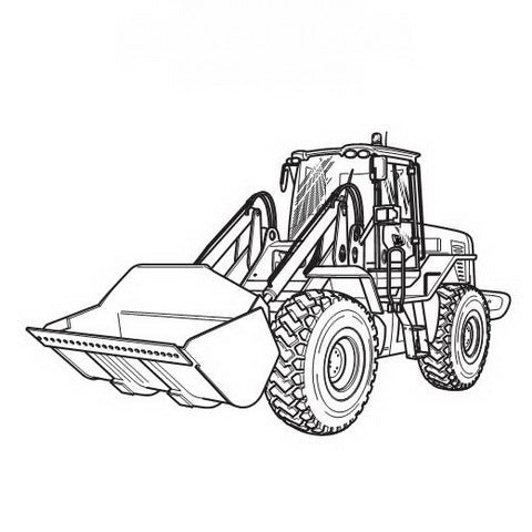 JCB 412S, 414S, 416S Wheeled Loading Shovel Service Manual - 9803/4170-14