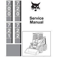 Bobcat 700, 720, 721, 722 Skid-Steer Loader Service Manual - 6556619 (3–87)