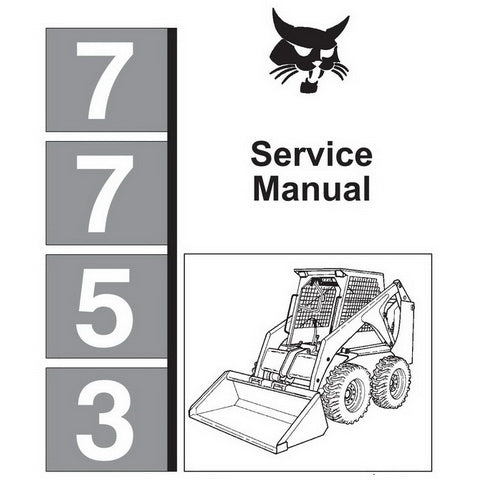 Bobcat 7753 Skid-Steer Loader Service Manual - 6720899 (6–91)