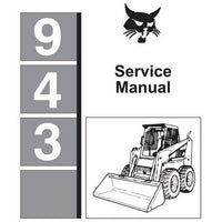 Bobcat 943 Skid-Steer Loader Service Manual - 6570008 (4–86)