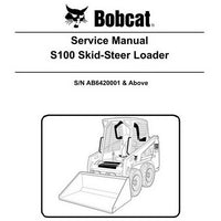 Bobcat S100 Skid-Steer Loader Service Manual - 6987401 (4-11)