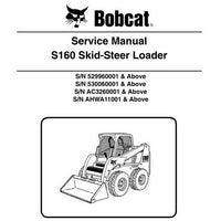 Bobcat S160 Skid-Steer Loader Service Manual - 6987034 (9-09)