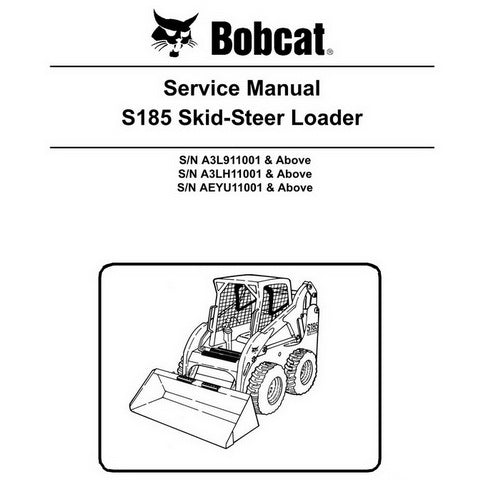 Bobcat S185 Skid-Steer Loader Service Manual - 6987049 (3-11)