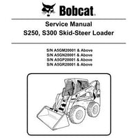 Bobcat S250, S300 Skid-Steer Loader Service Manual - 6987039 (2-11)