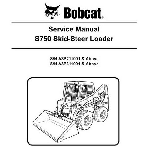 Bobcat S750 Skid-Steer Loader Service Manual - 6989464 (4-11)