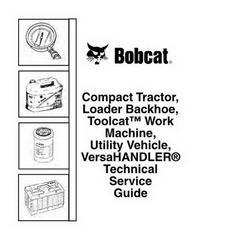 Bobcat Technical Service Guide - 6990005 (9-11)
