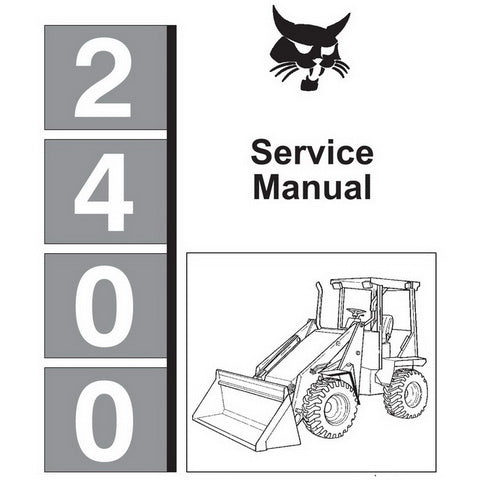 Bobcat 2400 Series Wheel Loader Service Manual - 6720455 (5–90)