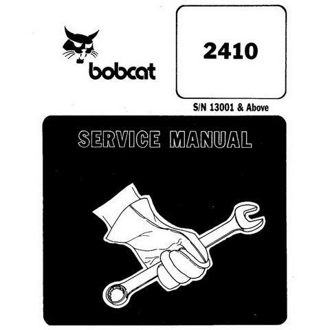 Bobcat 2410 Wheel Loader Service Manual - 6722327 (3-93)