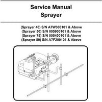 Bobcat 40-80 Sprayer Service Manual - 6902775 (4-11)