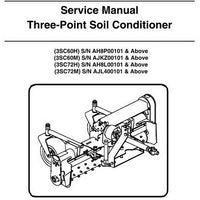 Bobcat Three-Point Soil Conditioner Service Manual - 6987449 (7-09)