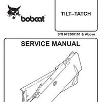 Bobcat Tilt–Tatch Service Manual - 6900887 (7–99)