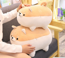 Load image into Gallery viewer, Angry Shiba Pillow