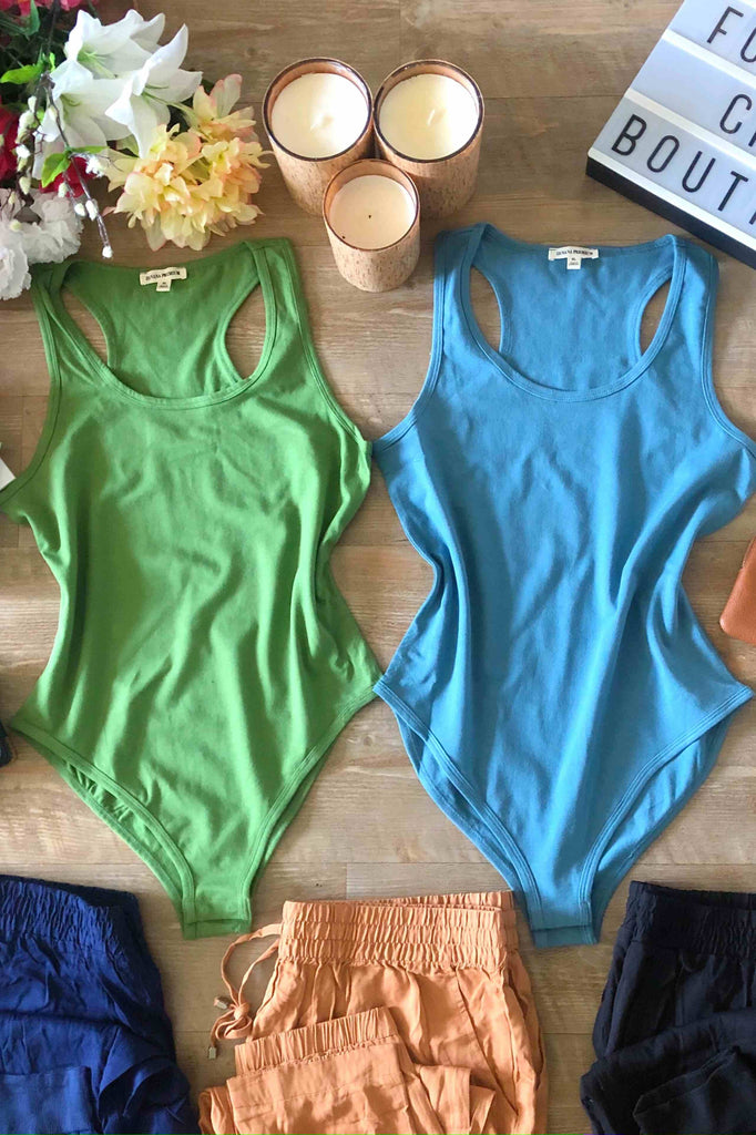 Make It Count Racerback Bodysuit
