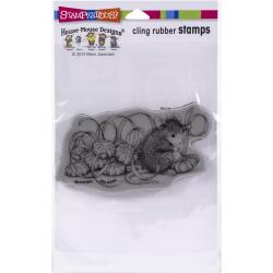 Stampendous House Mouse Cling Stamp Mint Gifts HMCP129 744019239135