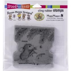 Stampendous House Mouse Stamp Snowmouse HMCQ24 744019239142