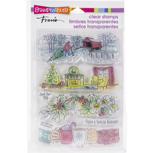 "Stampendous Stamps Set ""Holiday Gift"" SSC1359 744019239272"